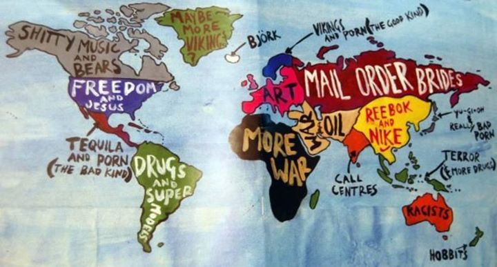 Great map of the World!