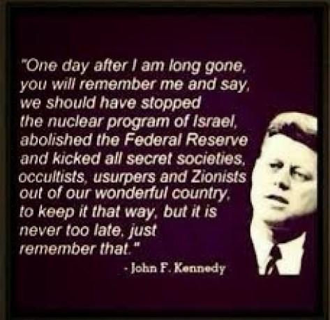 JFK israel