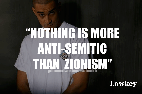 Anti-semitic = Zionism