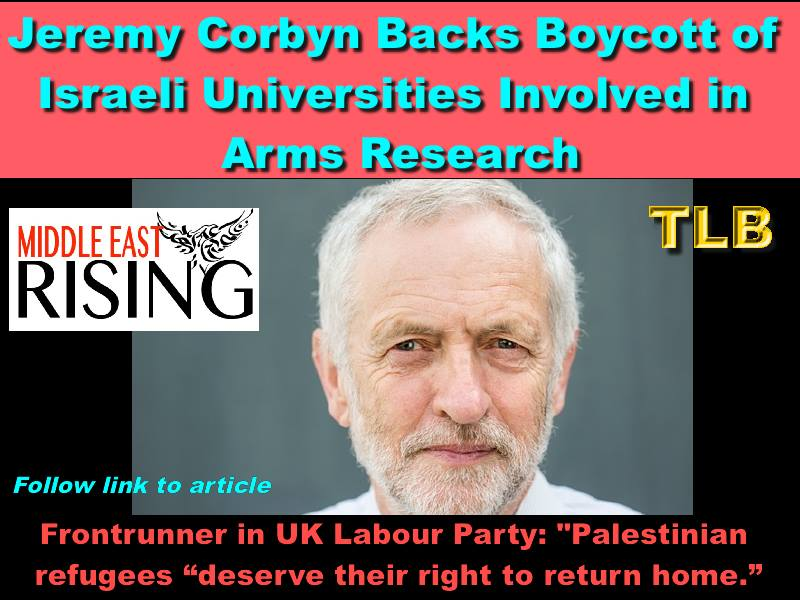 Corbyn for Palestine