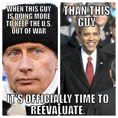 Cold war my arse!