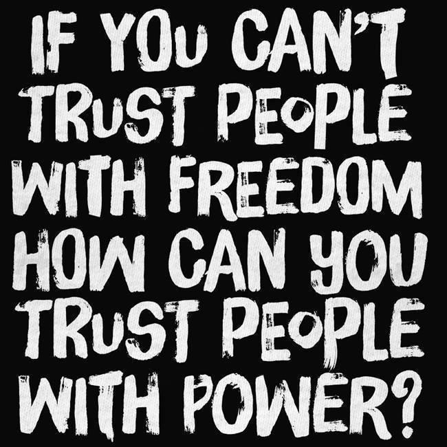 Trust Not