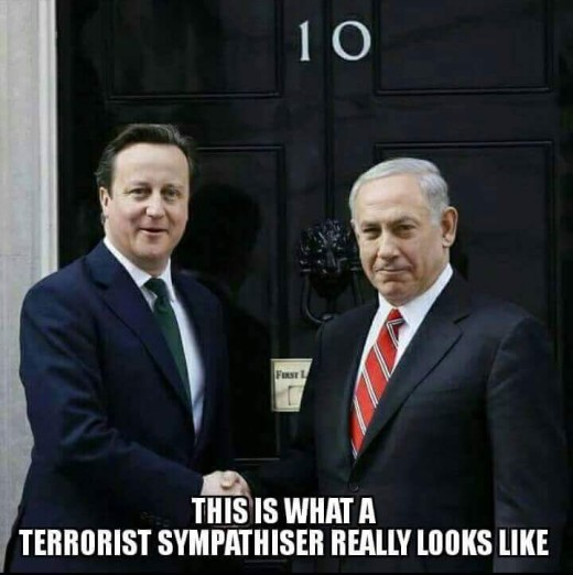 THE Terrorist Sympathiser.