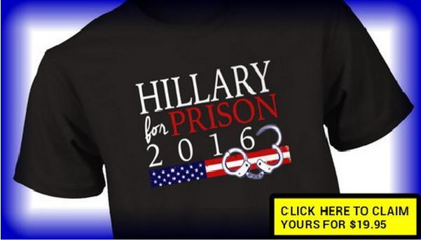 Hilary for jail!