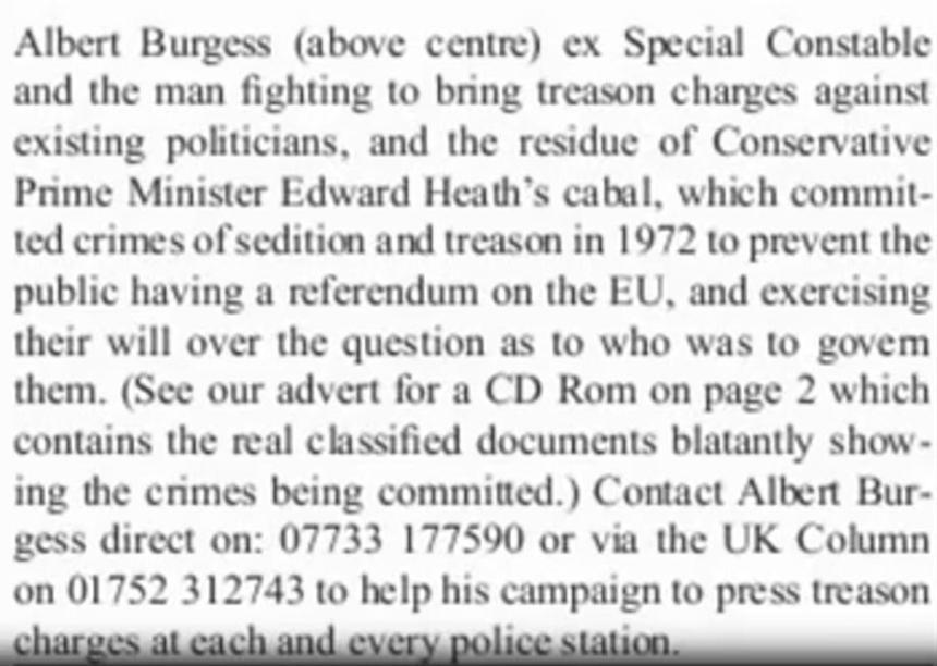 Exposing Treason