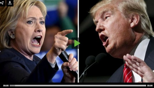Hilary vs Trump