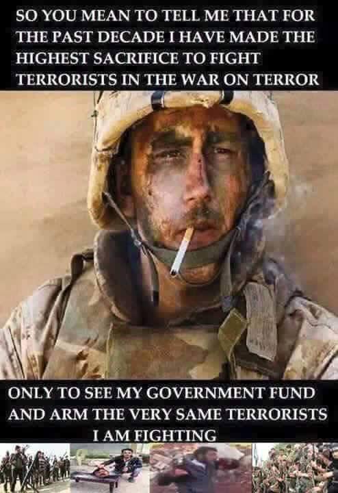 War on terror my arse!