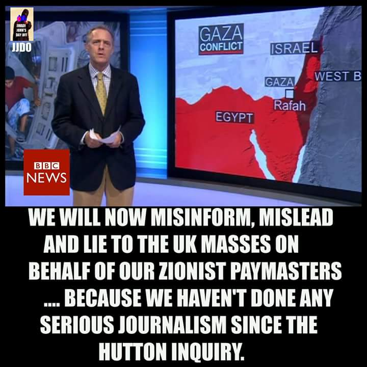 Image result for Zionist bbc lies