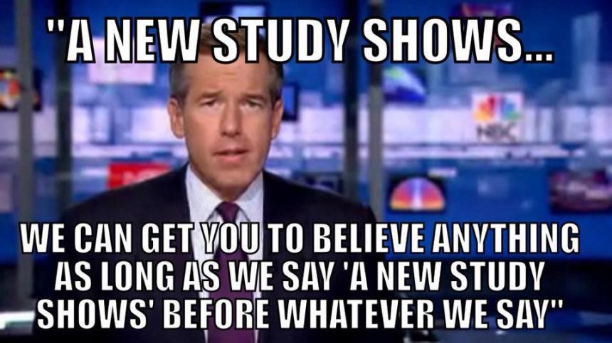 new-study-my-arse