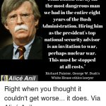 John Bolton: Draft-Dodger yet the Quintessential War-monger! How can this be?