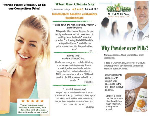 Ultra Fine Vitamin C - Why supplement Vitamin C 2