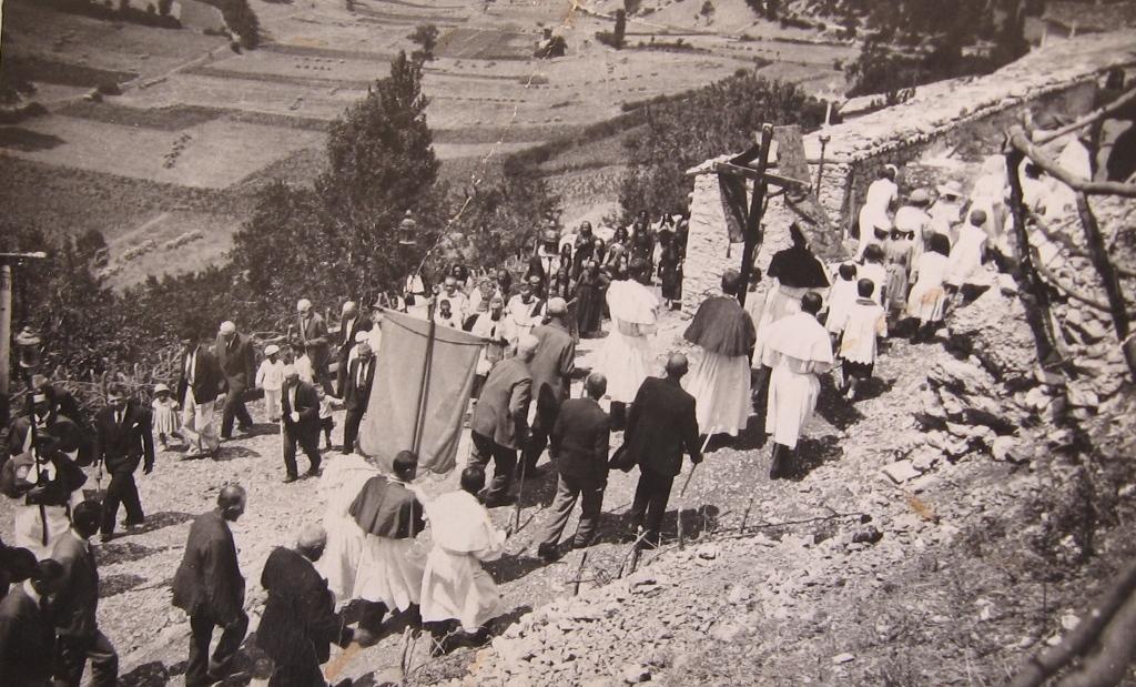 Processione a S.Vito negli anni '40