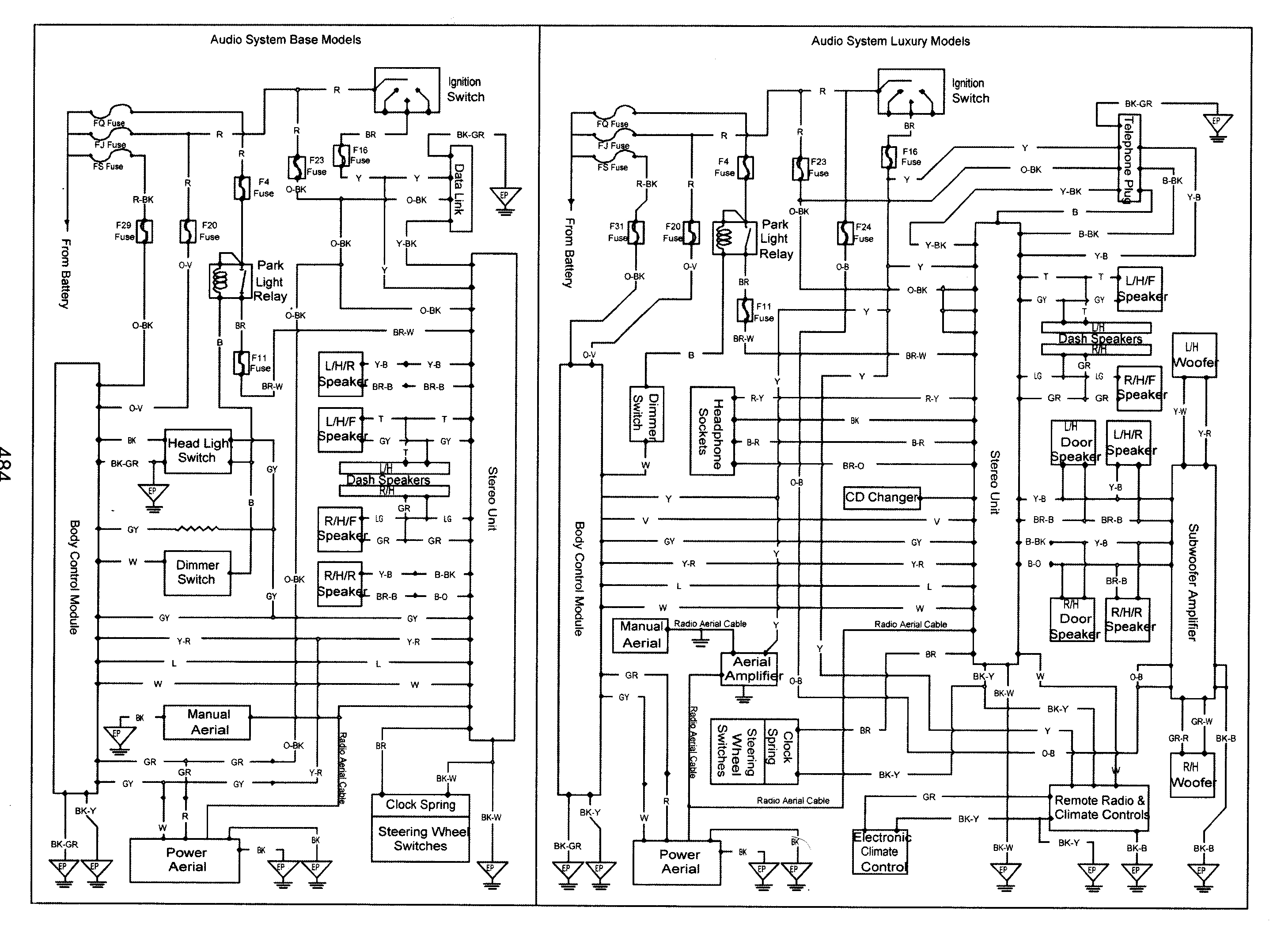 Dual Car Stereo Wiring Diagrams