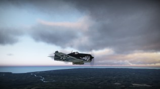 Hellcat over the UK