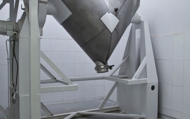Large V-Blender: Able to handle the capacity of 700-800 kg of Raw Material for Blending (Density Dependent)