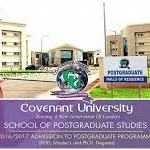 How To Obtain Covenant University Postgraduate Form, Register And Pay Fees Online