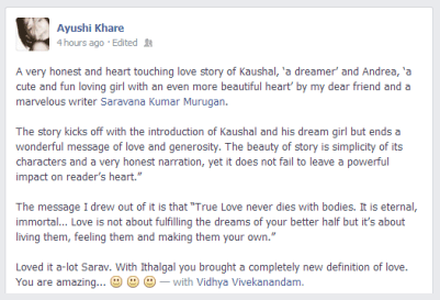 Ayushi Khare on Facebook