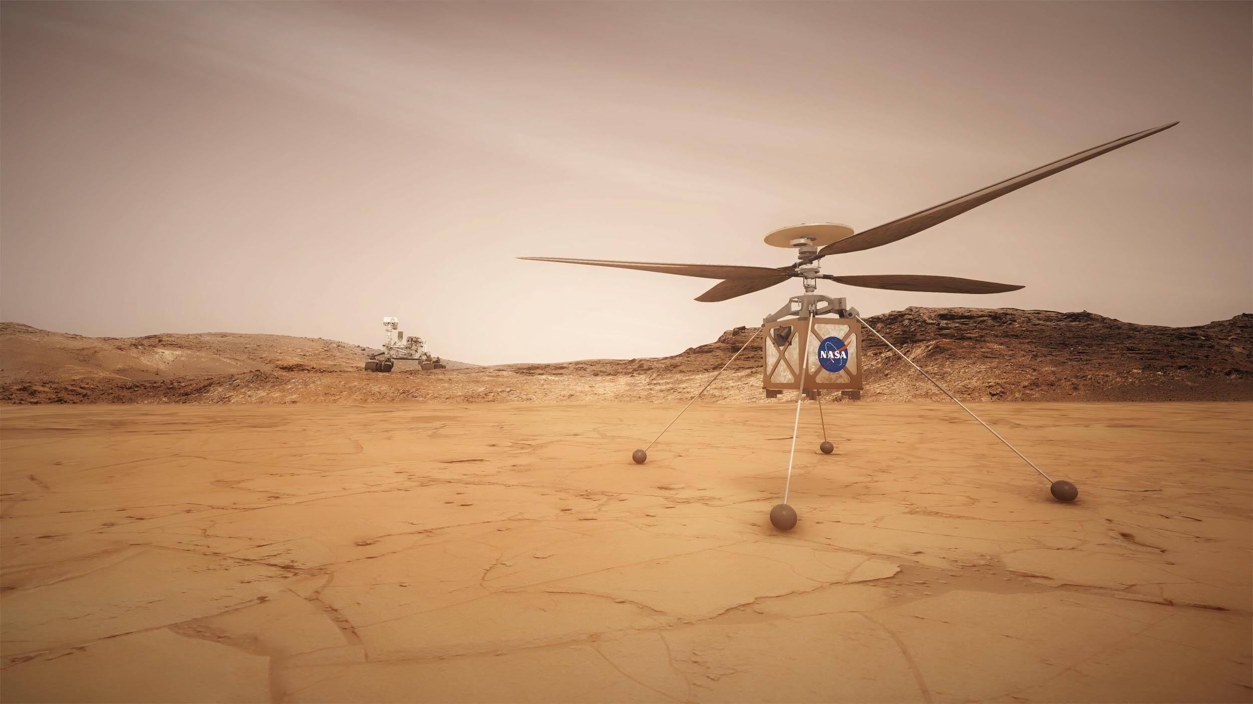 The Mars Helicopter: The Perseverance Mission   Good Morning Science