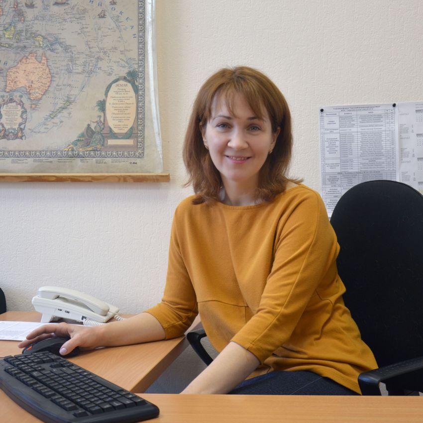 Ведущий специалист - Арзамасцева Наталья Викторовна