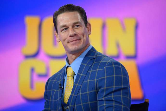 Cena is second on the list