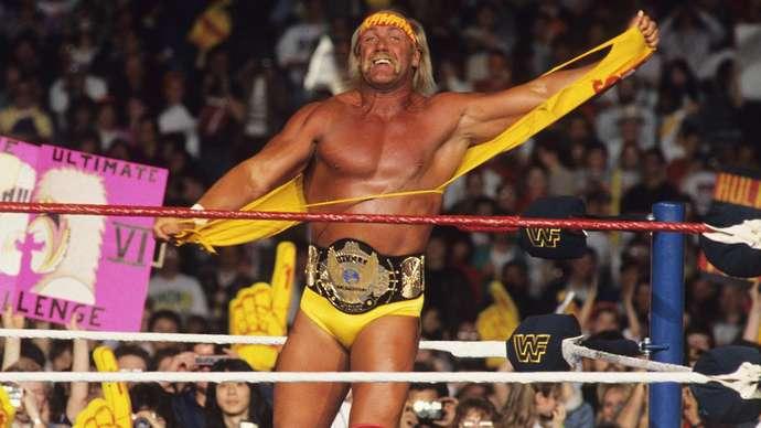 Hogan was WWE's first superstar