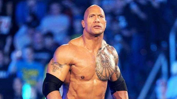 The Rock was always going to be number one
