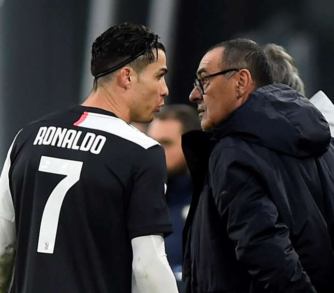 Maurizio Sarri has reportedly been sacked as Juventus manager after Lyon defeat