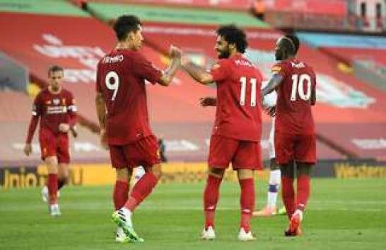 Salah, Firmino and Mane
