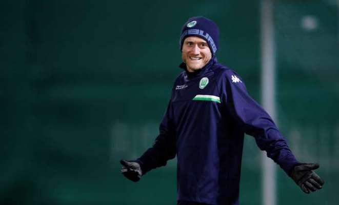 Schurrle with Wolfsburg