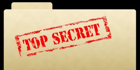 Top Secret Document Folder