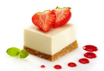 CheeseCake yogurt e fragole