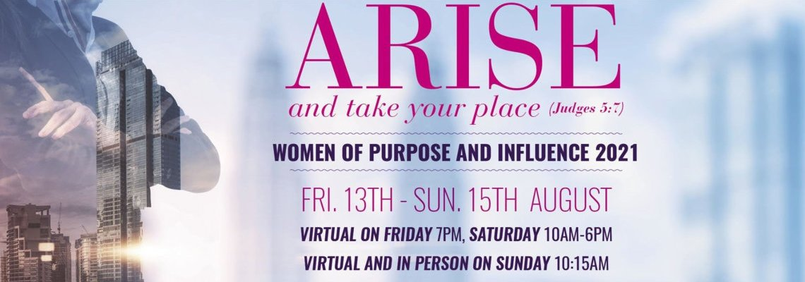 Women of Purpose and Influence Conference 2021