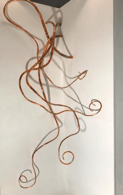 Corner Creature #1 - Copper Sculpture