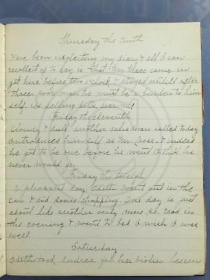 1927.02.10-13 - Annie F Morris diary