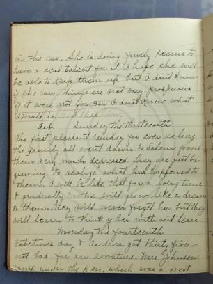1927.02.12-14 - Annie F Morris diary