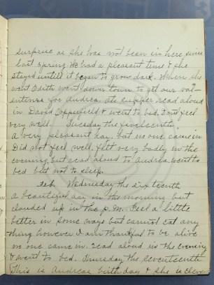 1927.02.15-16 - Annie F Morris diary