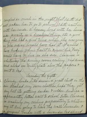 1927.04.04-05 - Annie F Morris diary