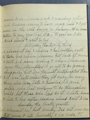 1927.04.22-24 - Annie F Morris diary