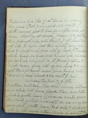 1927.04.24-25 - Annie F Morris diary