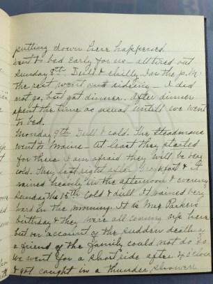 1927.05.07-15 - Annie F Morris diary