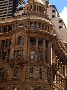 Old Standard Bank building