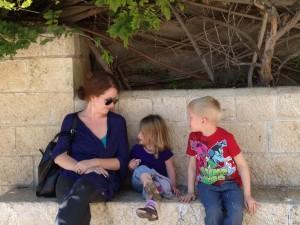 Aunty Yana and the kids
