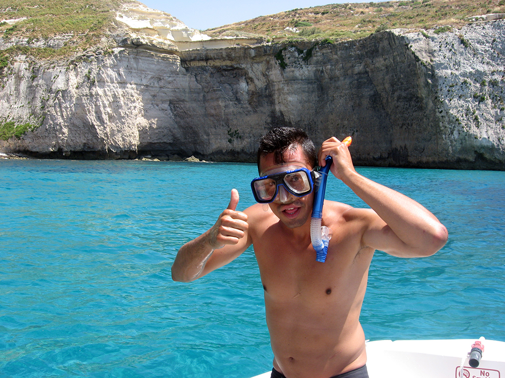 Boat trip and snorkelling at Fomm ir-Riħ