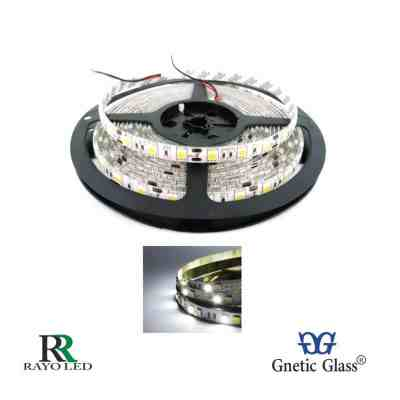 TIRA LED ROLLOS DE 5M - CON SILICONA 5050 DE 12V BLANCO