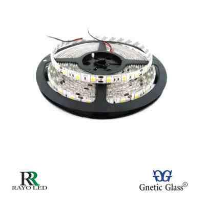 TIRA LED ROLLOS DE 5M - CON SILICONA 5050 DE 12V RGB