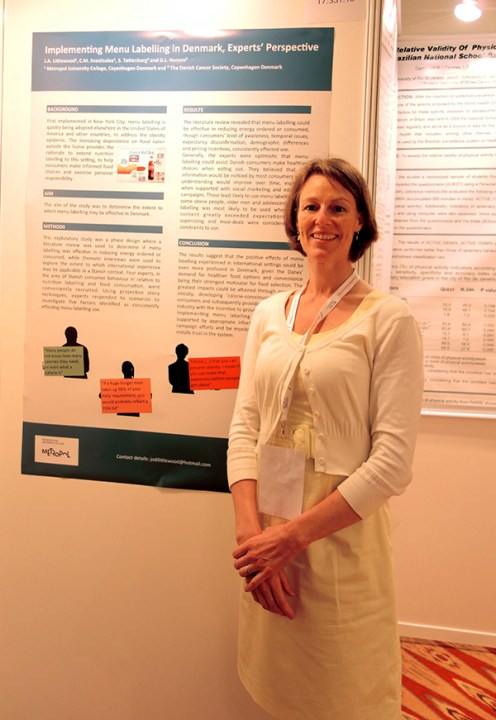 At the Congress with my poster