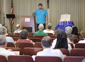 Ralph Modica teaching at Evangelization School