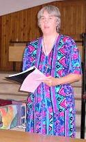 Terry teaching in Malawi