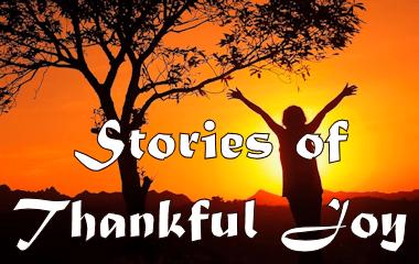stories of thankful joy