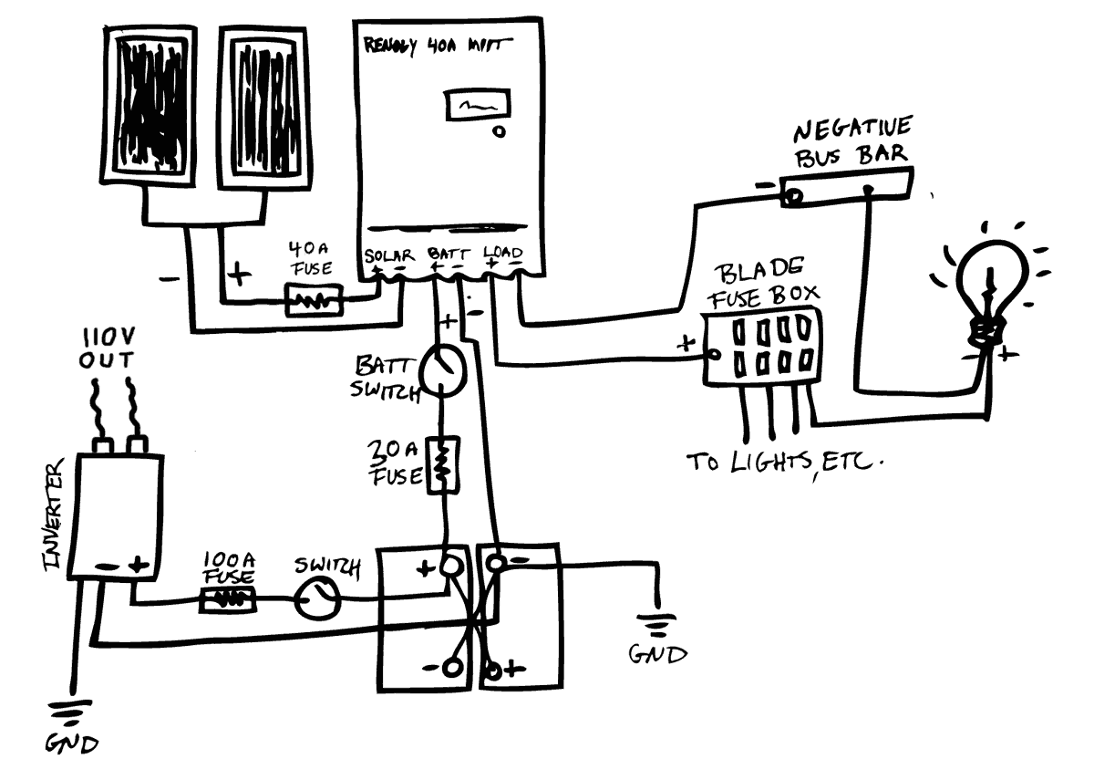 120v Wiring Diagram